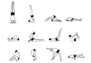 Sivananda joga 12 asan